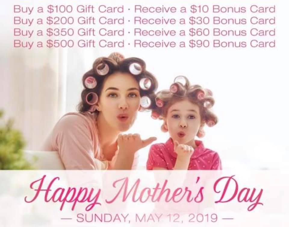 Promotion For Mother's Day 2019! :)