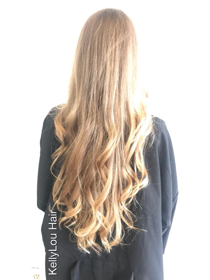BEAUTIFUL LONG BLOND HAIR CUT IN COCOA BEACH