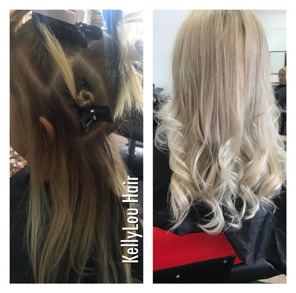 PLATINUM BLONDE (BEFORE & AFTER)