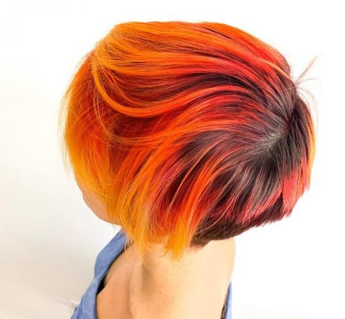 Amazing hair color in Cocoa beach
