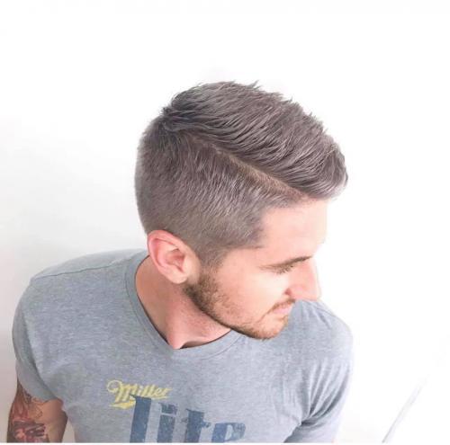 Man haircut in Cocoa Beach, Florida