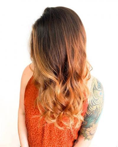 long hair color in cocoa beach
