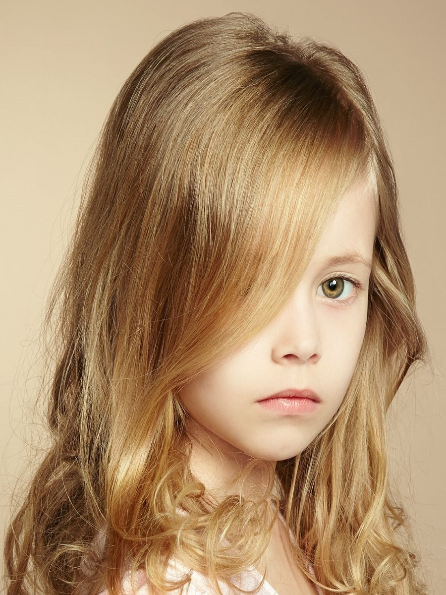 Beautiful Little Girl Haircut