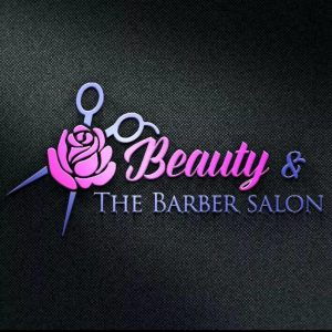 BEAUTY & THE BARBER SALON LOGO