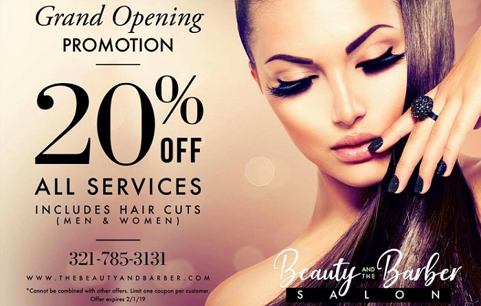 HAIR SALON GRAND OPENING PROMOTION!!