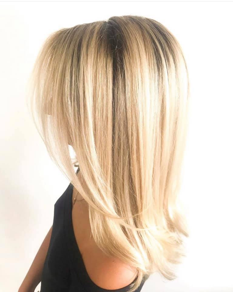 Beautiful Blond Hair Color and Haircut In Cocoa Beach