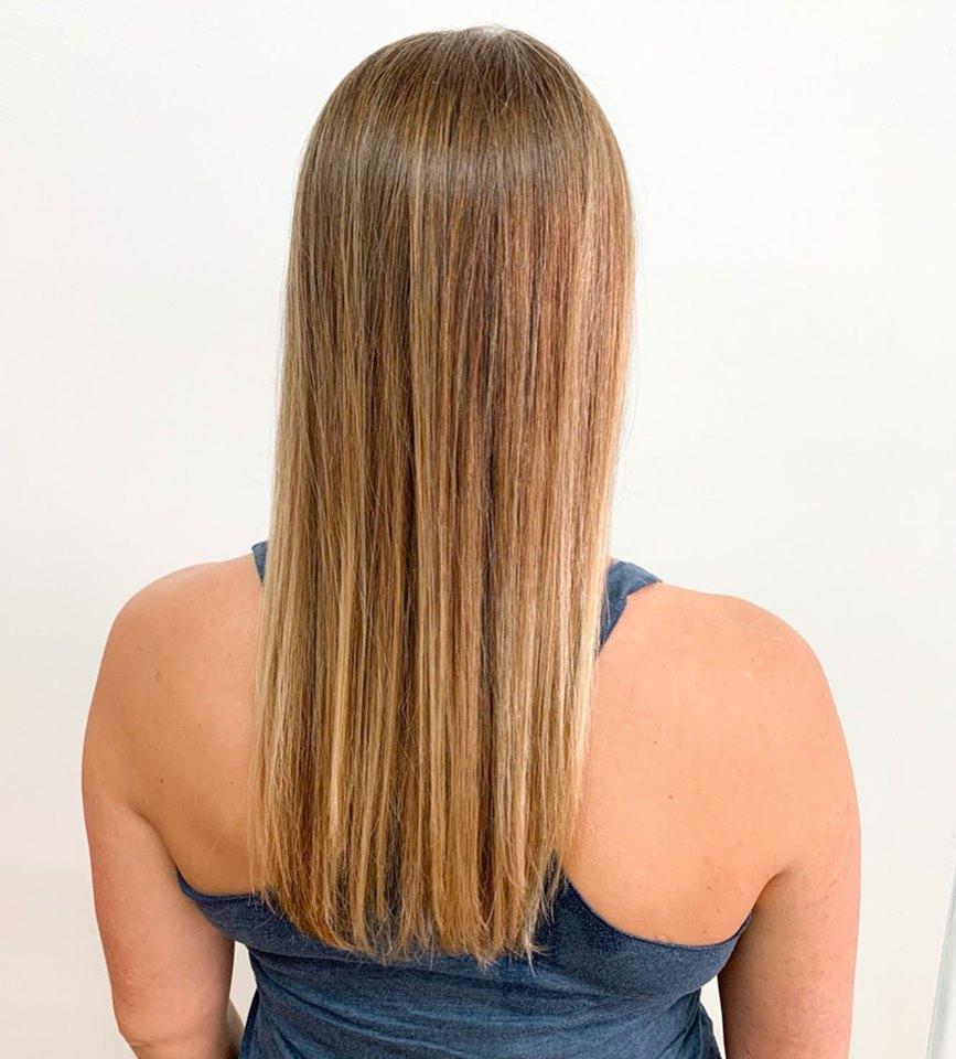 Professiona haircut for woman