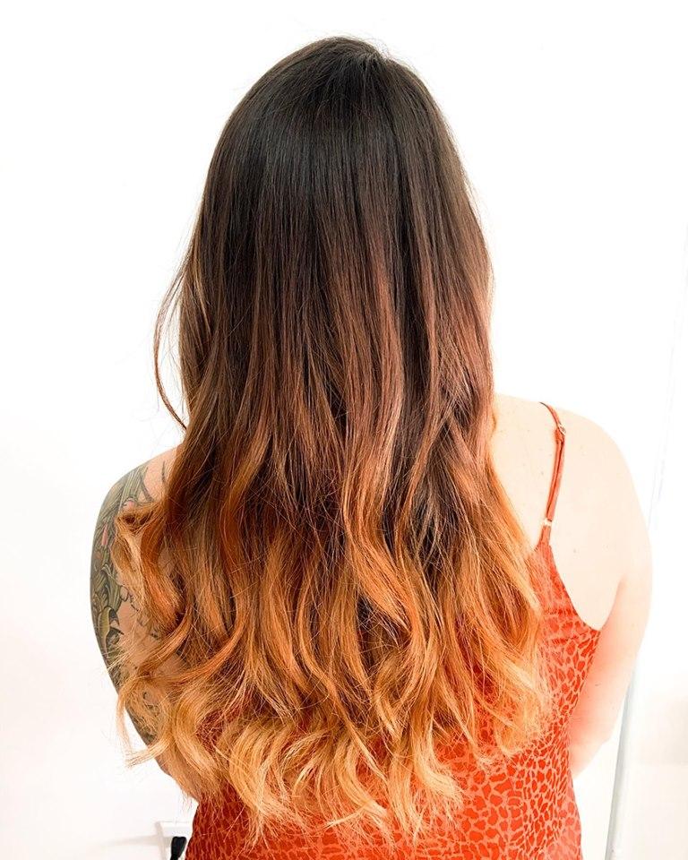 Hair color cocoa beach